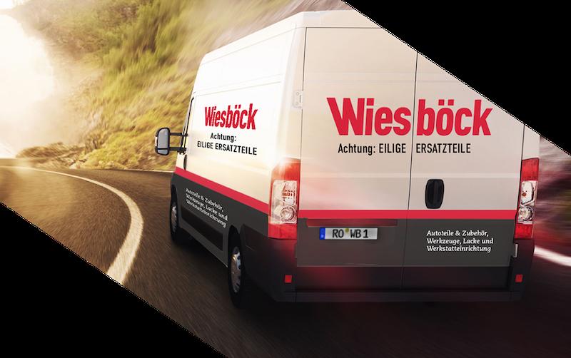Lieferwagen Wiesböck
