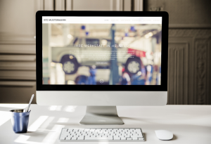 Homepage Autohändler Website
