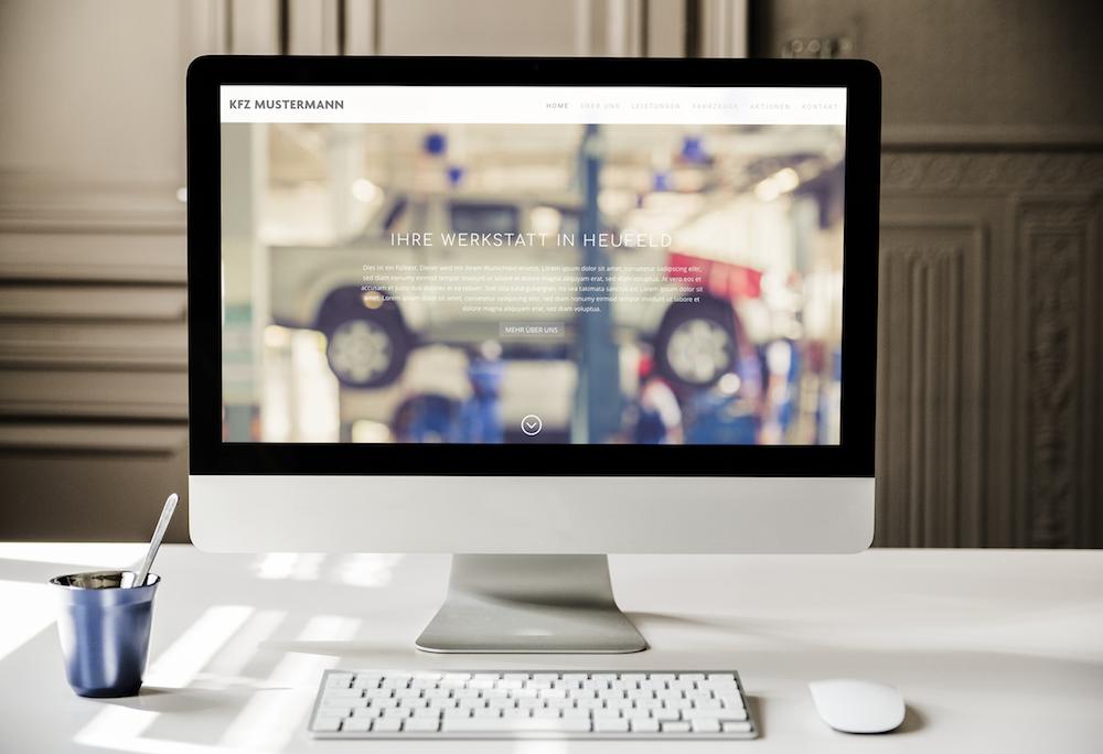 Homepage Werkstatt Autohändler