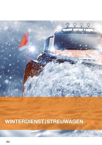 Cemo Winterdienst / Streuwagen Katalog 2020