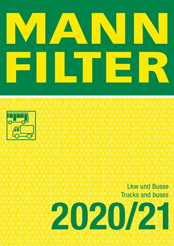 MannFilter Katalog Lkw und Busse