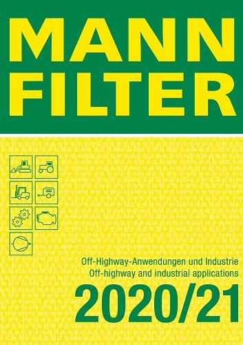 MannFilter Katalog Off-Highway-Anwendungen und Industrie