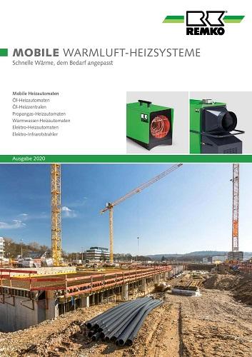 Remko Mobile Warmluft- Heizsysteme 2020