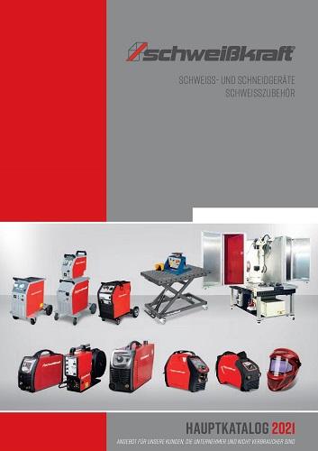 SCHWEIßKRAFT Katalog 2021