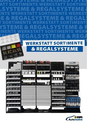SWG Werkstatt Sortimente Regalsysteme