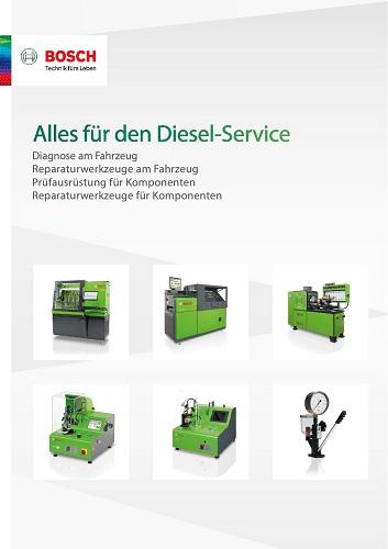 Bosch Alles für den Diesel-Service