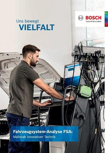 Bosch Fahrzeugsystem Analyse FSA
