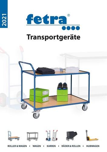 fetra Transportgeräte Produktkatalog 2021