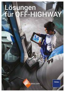 Texa Lösungen für Off-Highway