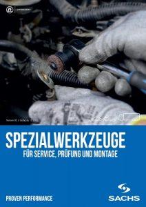 SACHS Spezialwerkzeuge für Service, Prüfung und Montage