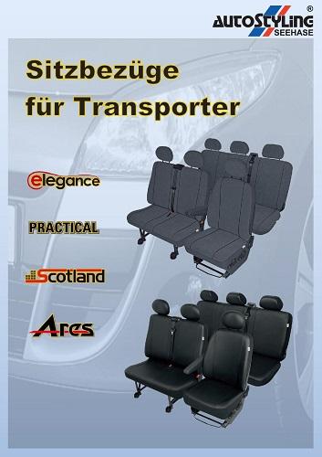 Sitzbezüge für Transporter Seehase