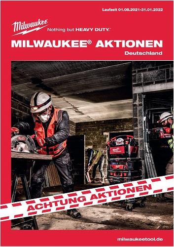 Milwaukee Aktionseinleger 2021