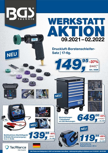 BGS Aktionsflyer 2021