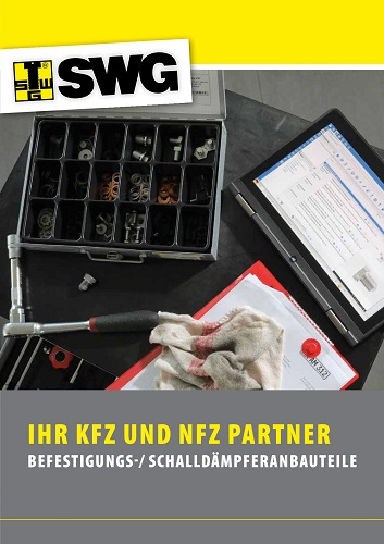 SWG Katalog Befestigung und Schalldämpferanbauteile